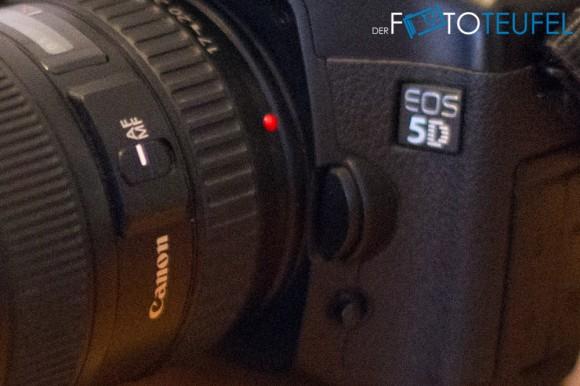 Kameraausschnitt mit ISO 10000