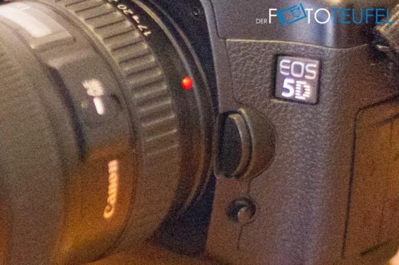 Kameraausschnitt mit ISO 25600