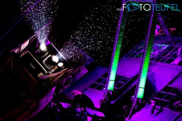 Niederschlag auf dem Splash Festival 2011