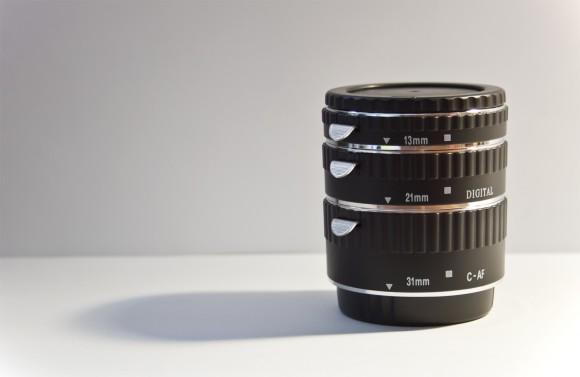 Makrofotografie-Zwischenringe