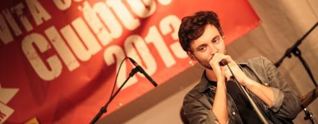 Konzertfotografie mit PLUTO zur Vita-Cola-Clubtour 2013 mit SPIESSER