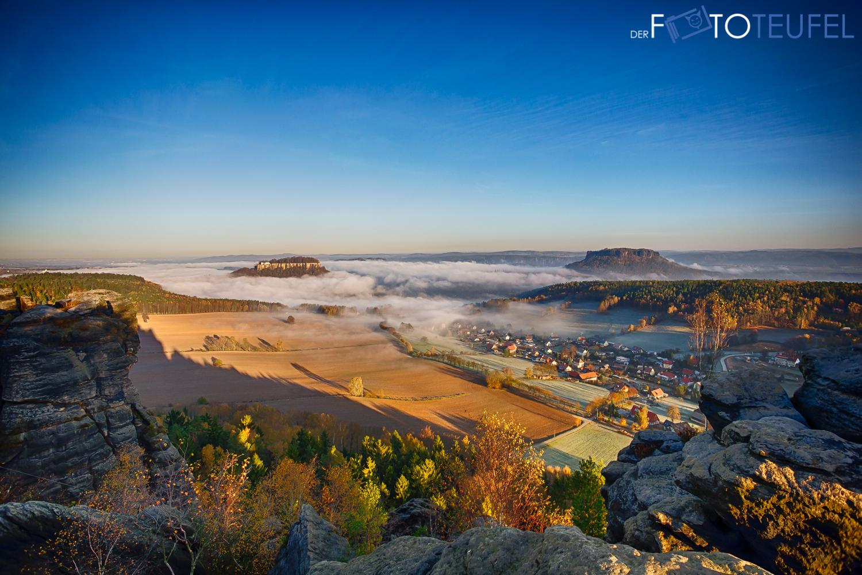 Landschaftsfotografie: Pfaffenstein Und Barbarine